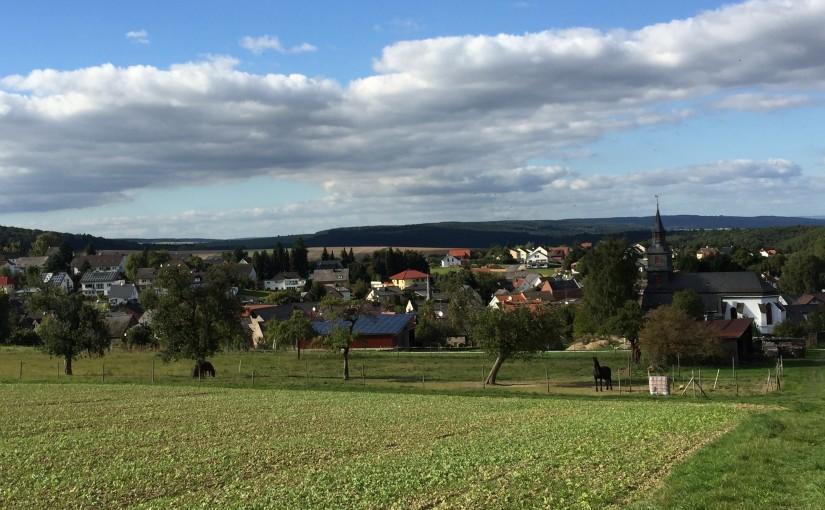 Hessischer Dialekt in Holzhausen über Aar, Hohenstein, Hessen